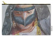 Portrait Of Uae Woman  Carry-all Pouch