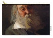 Portrait Of Walt Whitman 1887 Carry-all Pouch