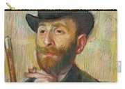 Portrait Of Zacherie Zacharian Carry-all Pouch