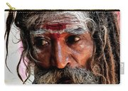 Portrait On The Ganges Carry-all Pouch