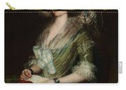 Portrait Senior Sean Bermudes Portrait Of Maria De Borbon Luisy Carry-all Pouch