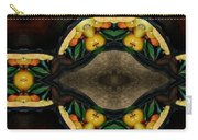 Portrait  Setting Of Fruit Reflection Art Carry-all Pouch
