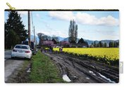 Portraits In A Daffodil Field Carry-all Pouch