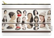 Portraits Of Lovely Asian Women  Carry-all Pouch