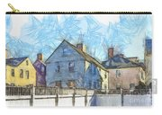 Portsmouth New Hampshire Pencil Carry-all Pouch