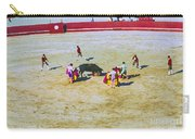 Portuguese Bull Wrestling 4 Carry-all Pouch