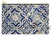 Portuguese Glazed Tiles Carry-all Pouch