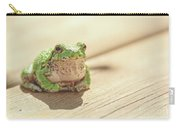 Posing Tree Frog Carry-all Pouch