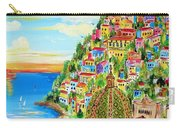 Positano Dreamy Sunset Carry-all Pouch
