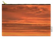 Post Sunset Clouds Carry-all Pouch