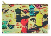 Postage Pop Art Carry-all Pouch