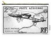 Postage Stamp: Bleriot Carry-all Pouch