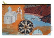 Postcard From Santorini Carry-all Pouch
