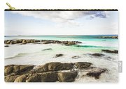 Postcard Perfect Ocean Background Carry-all Pouch