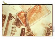 Postcards And Letters From The City Of Love Carry-all Pouch