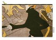 Poster Advertising Le Divan Japonais Carry-all Pouch by Henri de Toulouse Lautrec