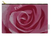 Poster Rose Carry-all Pouch