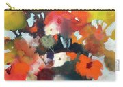Pot Of Flowers Carry-all Pouch by Michelle Abrams