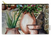 Pots And Bougainvillea Carry-all Pouch