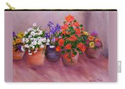 Pots Of Flowers Carry-all Pouch