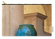 Pottery And Archways Carry-all Pouch by Sandra Bronstein