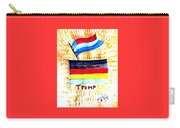 Potus For All Black Brown, Red, Yellow, White Carry-all Pouch