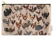 Poultry Of The World Poster Carry-all Pouch