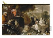 Poultry Yard Carry-all Pouch by Melchior de Hondecoeter