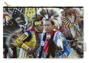 Pow Wow Back In Time 1 Carry-all Pouch