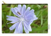 Powder Blue Chicory Carry-all Pouch