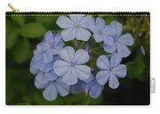 Powder Blue Flowers Carry-all Pouch