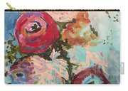 Powder Blue Roses Carry-all Pouch