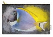 Powder Blue Tang No 01 Carry-all Pouch