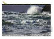Powerful Waves Crash Ashore Carry-all Pouch