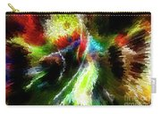 Powwow Dancer Abstract Carry-all Pouch