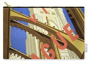 Prague Travel Poster Carry-all Pouch