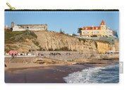 Praia Da Poca Beach In Estoril Portugal Carry-all Pouch