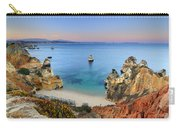 Praia Do Camilo At Sunset  Carry-all Pouch