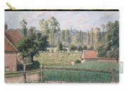 Prairie At Eragny, 1889 Carry-all Pouch