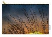 Prairie Grass Sunset Patterns Carry-all Pouch