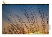 Prairie Grass Sunset Carry-all Pouch