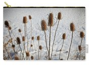 Prairie Seedheads Carry-all Pouch