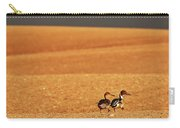 Prairie Storm And Ducks Canada Carry-all Pouch