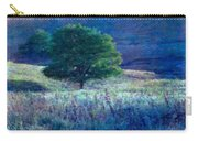Prairie Trees Impressionistic Grunge Carry-all Pouch