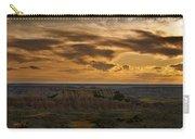 Prairie Wind Overlook Badlands South Dakota Carry-all Pouch