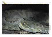 Prarie Rattle Snake Carry-all Pouch