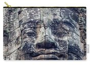 Prasat Bayon Stone Face  Carry-all Pouch