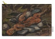 Prawns And Mussels Paris, September - November 1886 Vincent Van Gogh 1853  1890 Carry-all Pouch