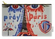 Pray For Paris Carry-all Pouch