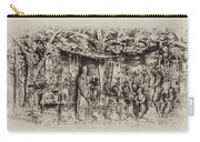 Prayer Meeting At Jamestown Carry-all Pouch